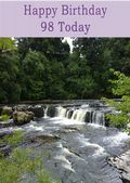 Happy Birthday - 98 Today - Option 1